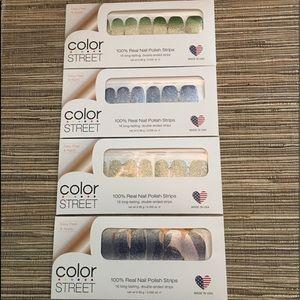 4 Nail (Color Street) Sets
